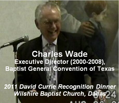 Charles Wade, 2011 Currie Dinner, Wilshire BC, Dallas